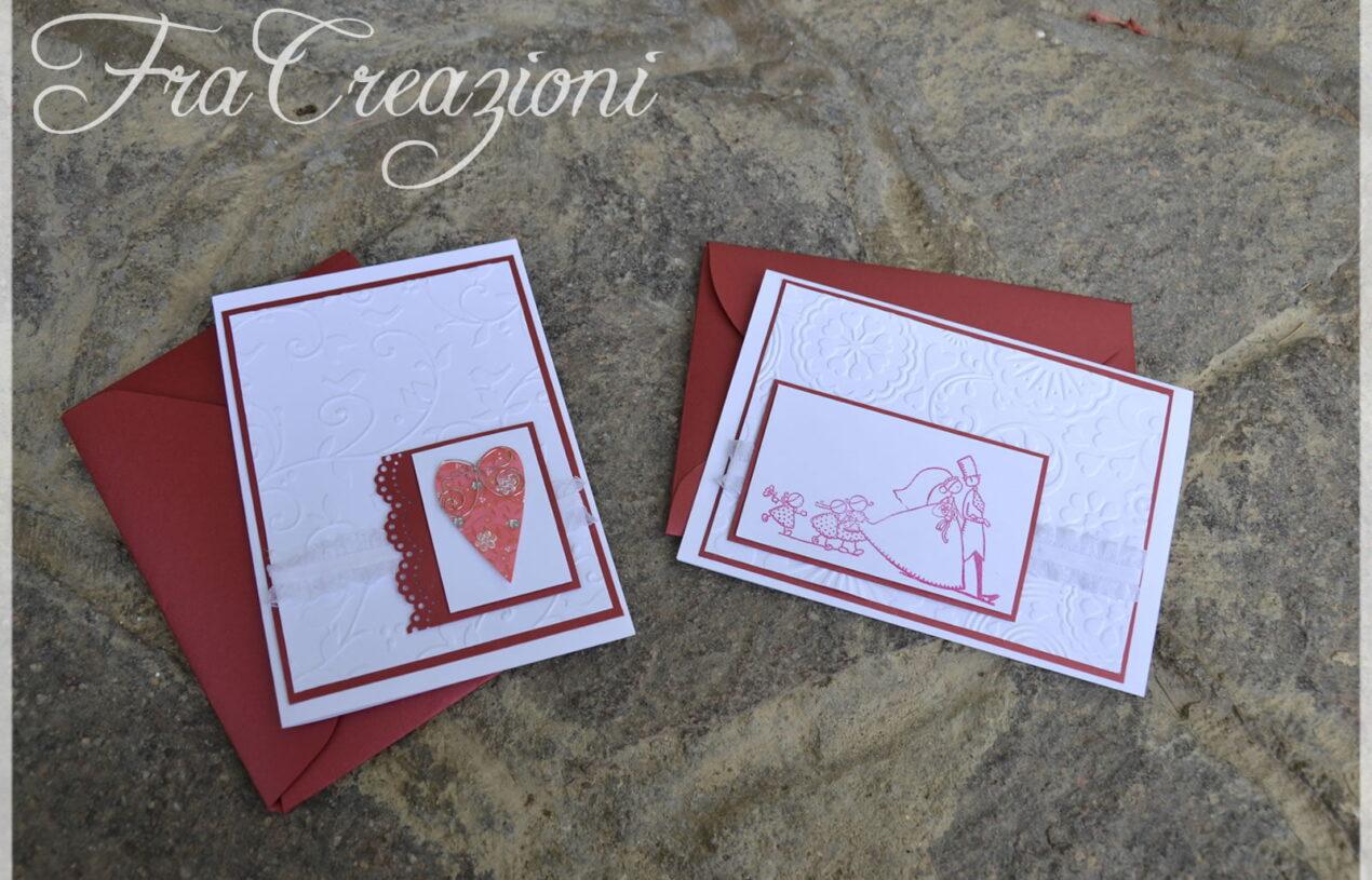 Di nuovo cards ma…wedding cards :)