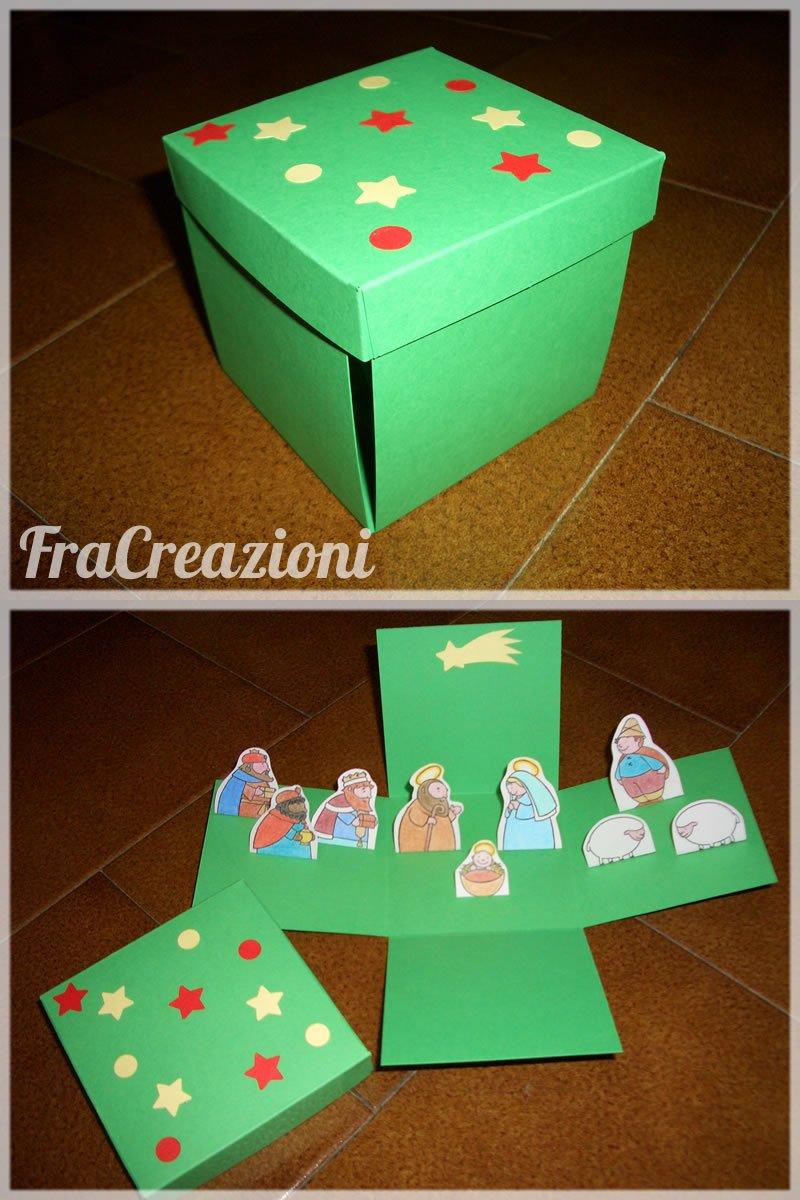scatolina presepe