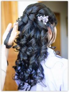 18 fiori capelli