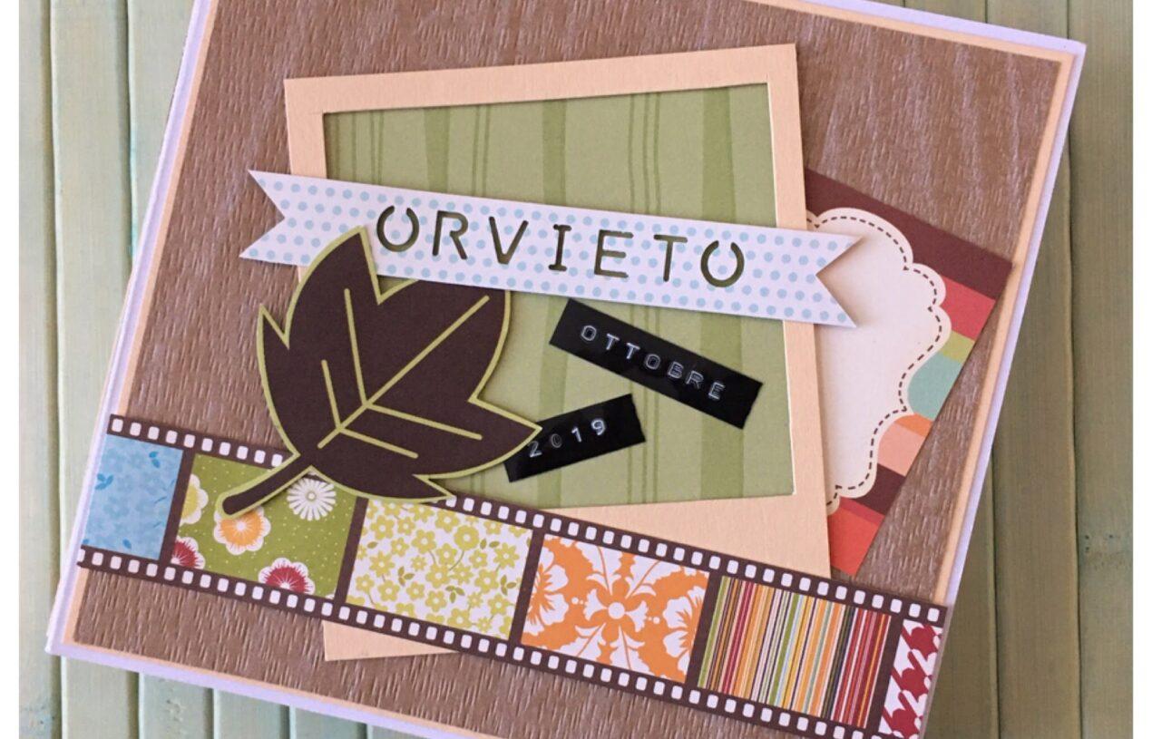 """Album Orvieto 2019, con sistema di rilegatura """"by me"""""""