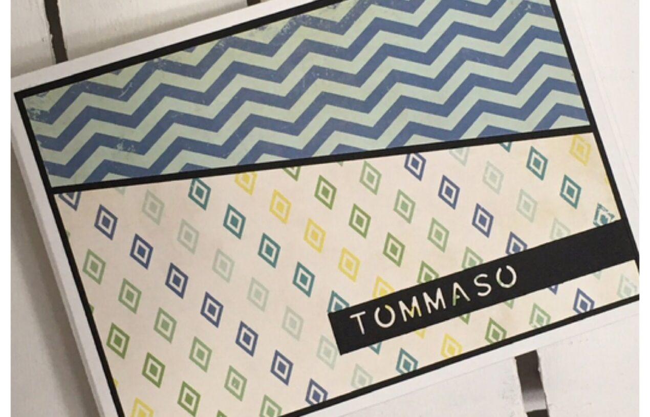"""Un album """"spider book"""" per Tommaso"""
